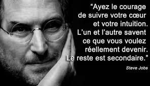 courage Steve Jobs - Blog
