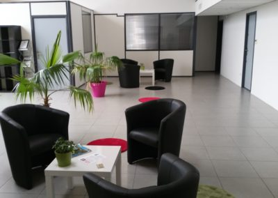 hall daccueil 1 1 400x284 - Bureaux à Toulouse