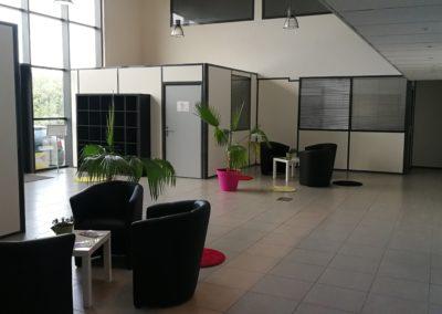 hall daccueil 3 1 400x284 - Bureaux à Toulouse