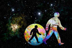 lhomme et les étoiles 300x200 - Régression vie antérieure avec l'hypnose